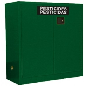 OSHA Approved Pesticide Storage Cabinet 30 Gal. Self-Latch Standard 2-Door