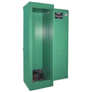 MG104 Oxygen or MedGas Cylinder Storage Cabinet Stores 2-4 D  E Cylinders