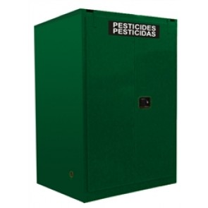 Pesticide Storage Cabinet  2/55 Gallon Drum + 2/5 Gallon. Safety Can Storage