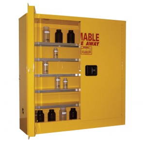 Wall Mount Safety Cabinet  24 Gal. Self-Latch Standard 2-Door