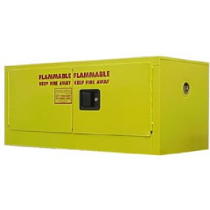 Wall Mount Flammable Storage Cabinet   12 Gal. Self-Close  Self-Latch Safe-T-Door