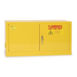 Stackable or Wall Mount Flammable Safety Cabinet  18 Gal.  Yellow