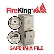 Fireproof Safe in a File Cabinet