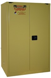 OSHA Approved Flammable Storage Cabinet  90 Gal. Self-Close  Self-Latch Safe-T-Door