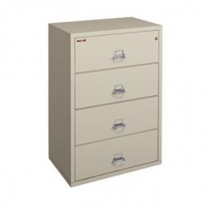 FireKing 4-3822-C Four (4) Drawer Lateral Fire File Cabinet