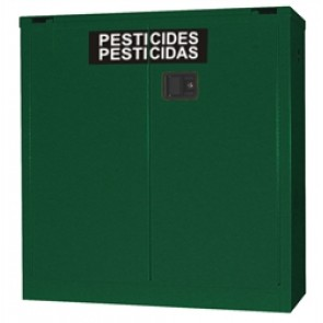 OSHA Approved Pesticide Storage Safety Cabinet  30 Gal. Self-Close  Self-Latch Safe-T-Door