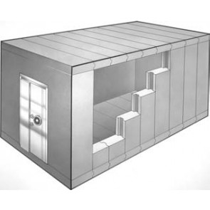 Class 3 Modular Vault Panels, TRTL-120 Security Vault Rooms