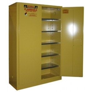 Paint & Ink Storage Cabinet OSHA Approved and Compliant  60 Gal. Self-Latch Standard 2-Door