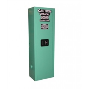 Securall 2-Cylinder Medical Oxygen Gas Tank Cabinet
