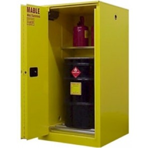 Vertical Drum / Barrel Combo Cabinet 65 Gallon capacity