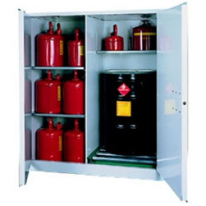 V1500 Flammable Storage Cabinet for 55 gallon Drums or Barrels